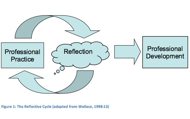 reflection for professional development A central role in teachers' professional development when student teachers   learning deliberate reflection on experience is essential reflective practice is an .